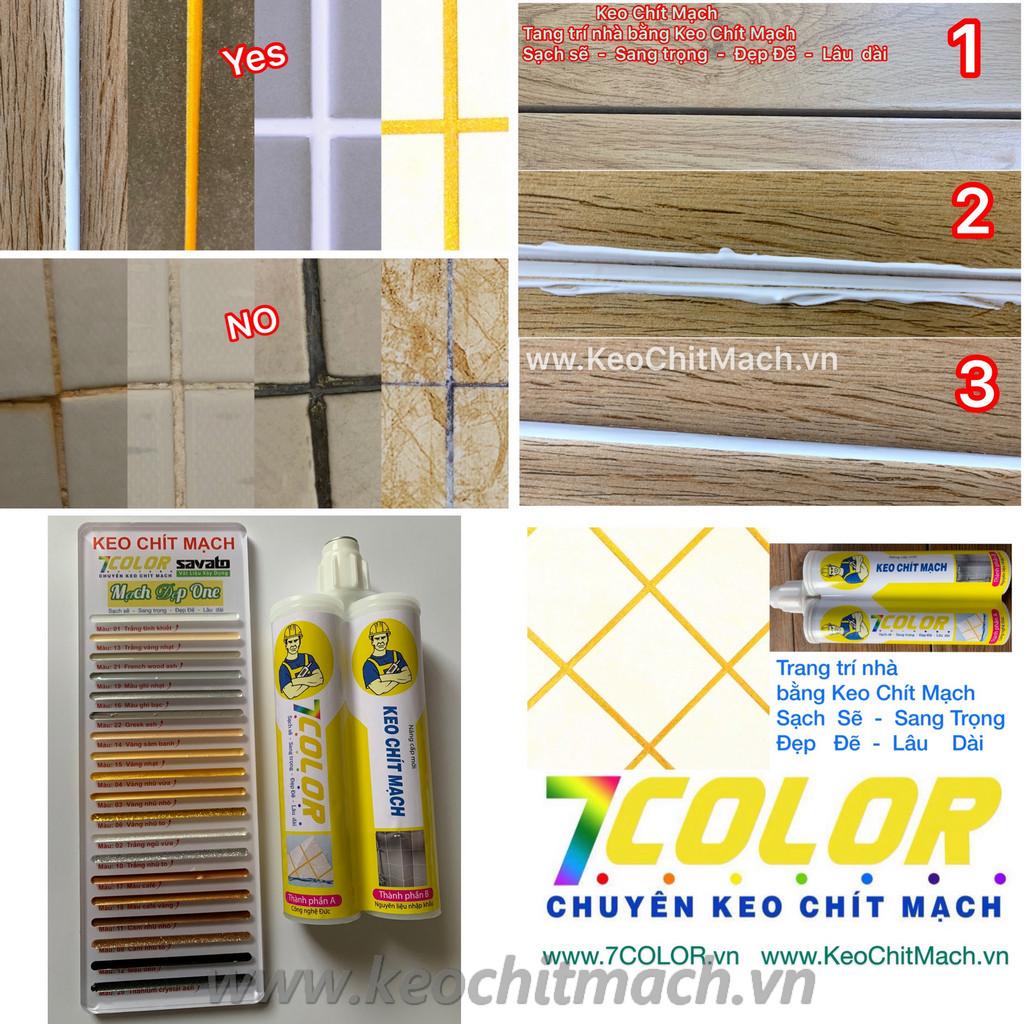 7 Color Keo chít mạch chống thấm chống bụi bẩn tuyệt đối